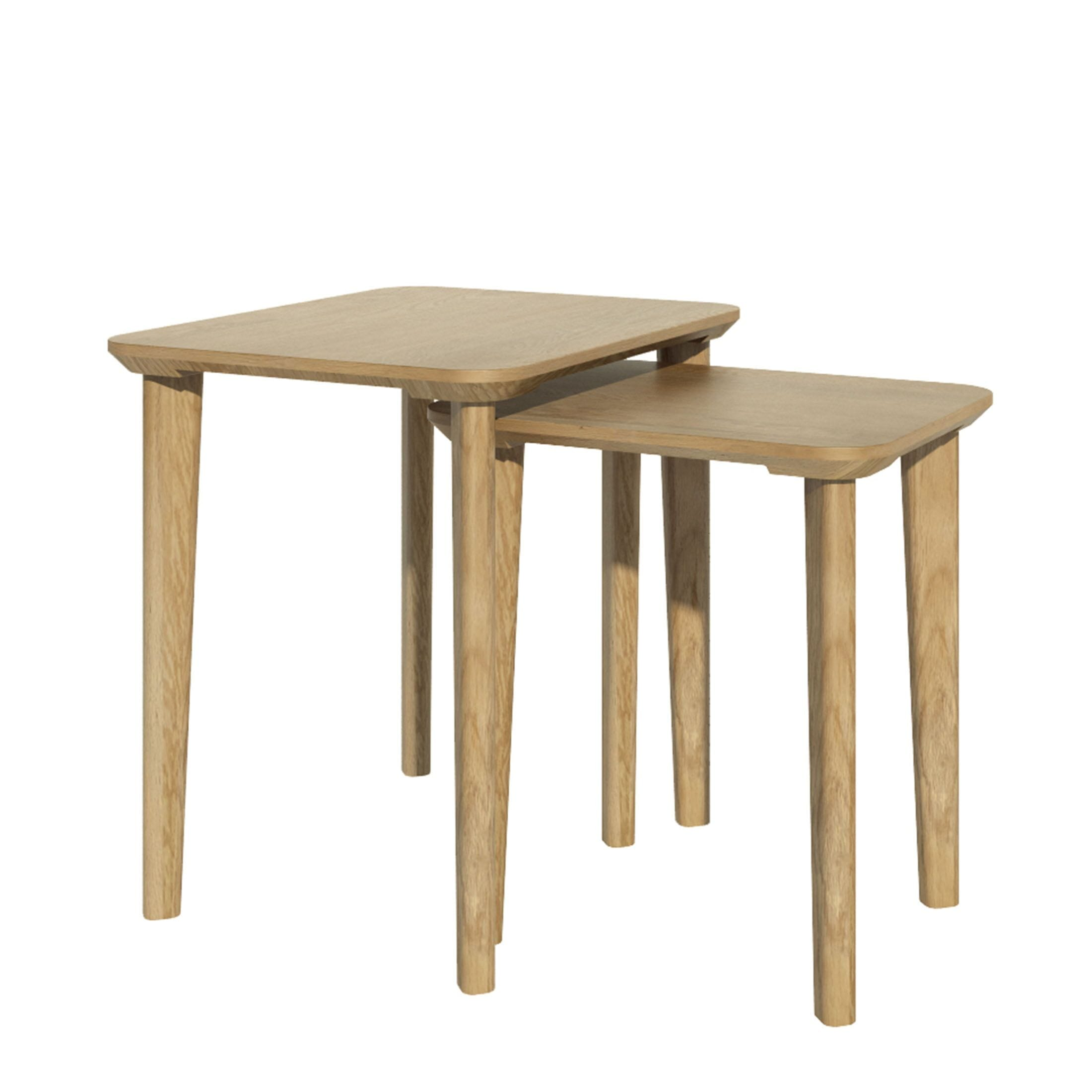 SCANNEST Scandic Rect Nest of tables
