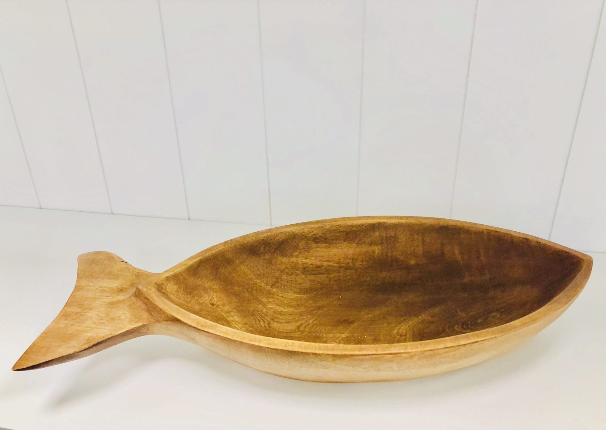 Large fish bowl wooden