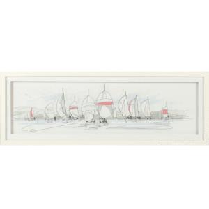 regatta framed art altered