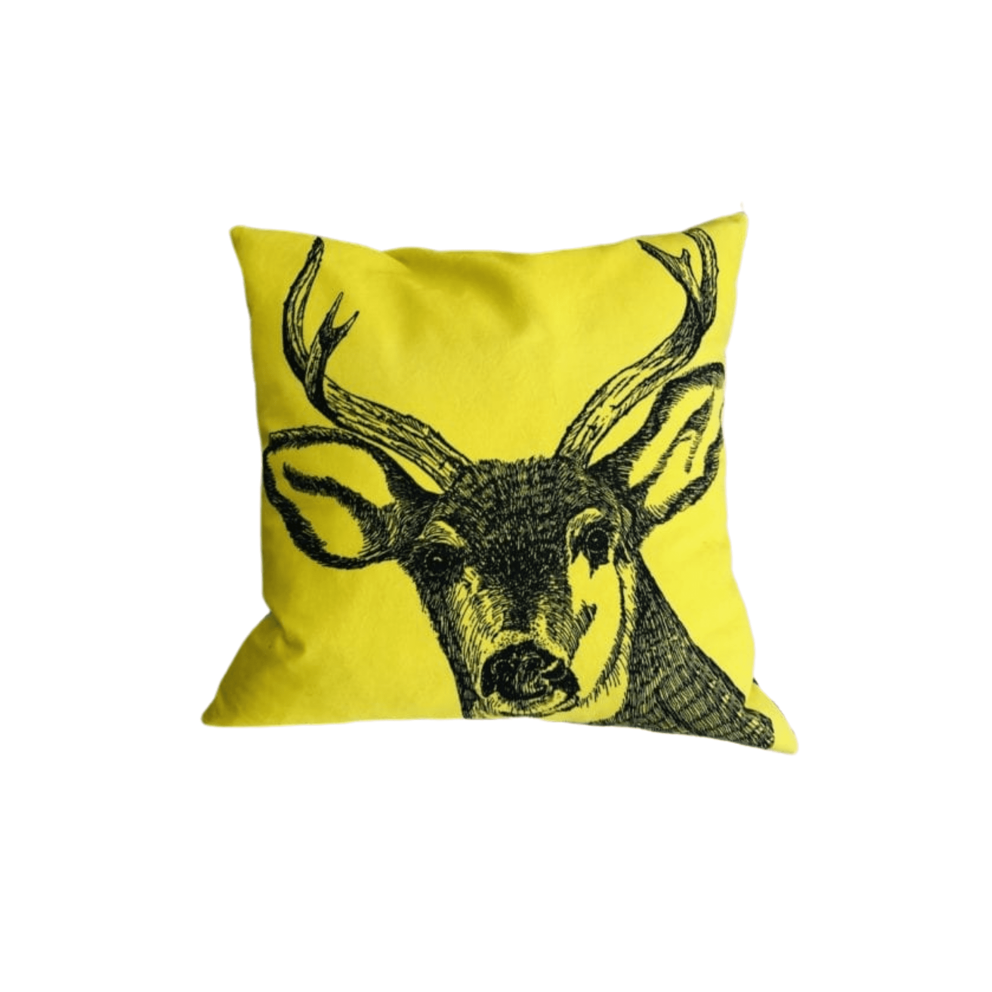 stag cushion yellow resized