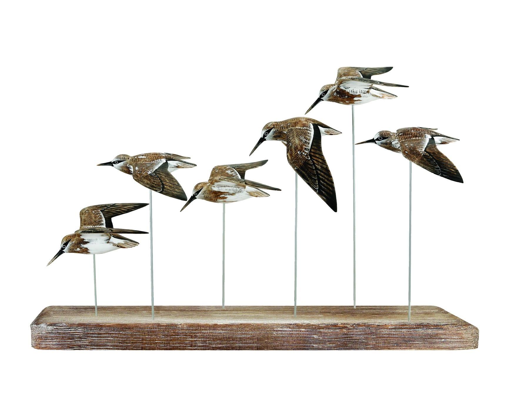 D232 Dunlin flock