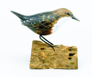D360 dipper wood carving