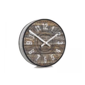 Thomas Kent 6.5 Wharf Mantel Clock Cotton Mill canva