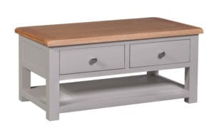 DIACT Diamond painted coffee table