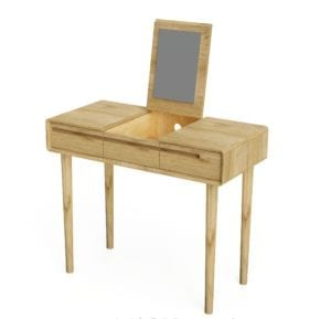 SCADT Scandic Dressing Table With mirror