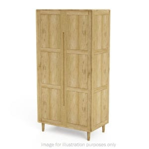 SCAROBE Scandic oak Wardrobe
