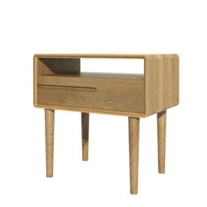 Scantic oak coffee table retro style