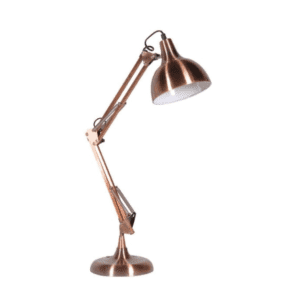 LHS058 copper angled lamp