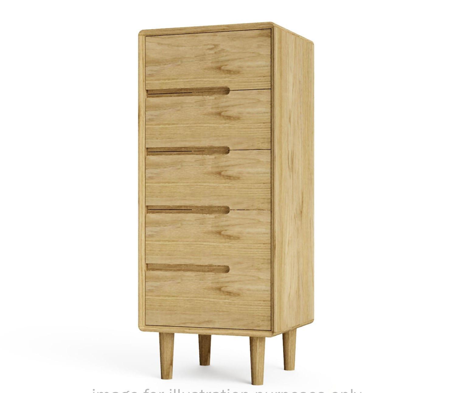 SCA5CH Scandic 5 drawer chest