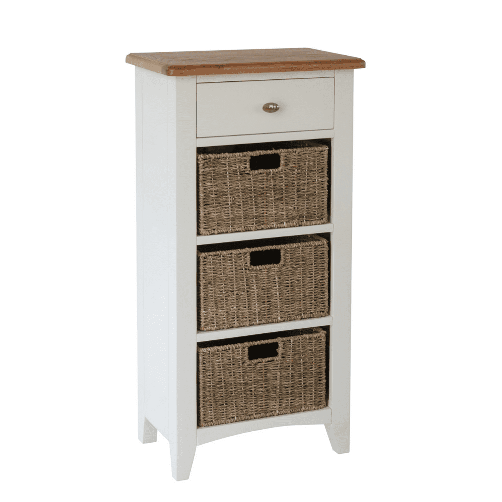 Weybourne 1 drawer 3 basket unit v1