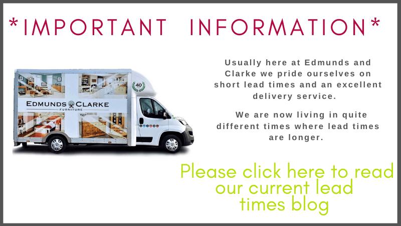 Edmunds & Clarke Delivery lead times