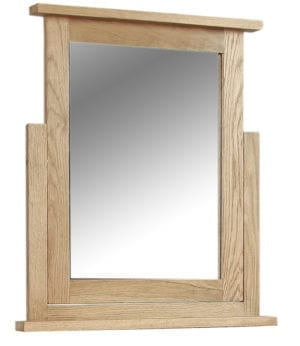 SOM024 Somerset Oak Dressing table Mirror