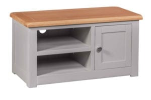 DIA1DTV Diamond painted door tv unit