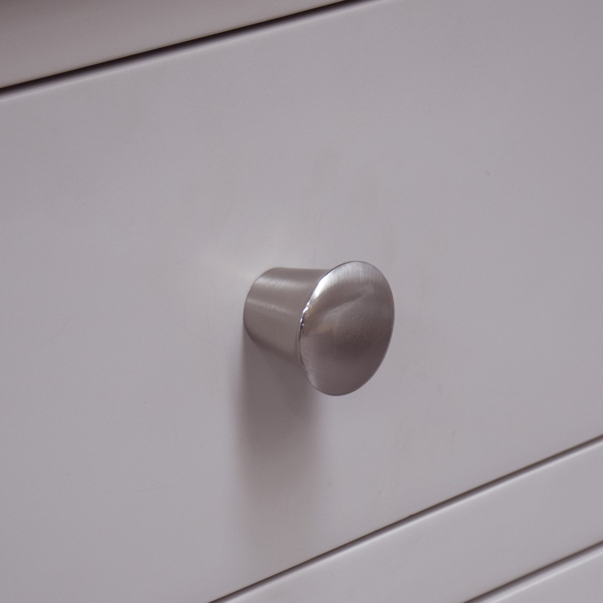 Diamond Satin nickel knob