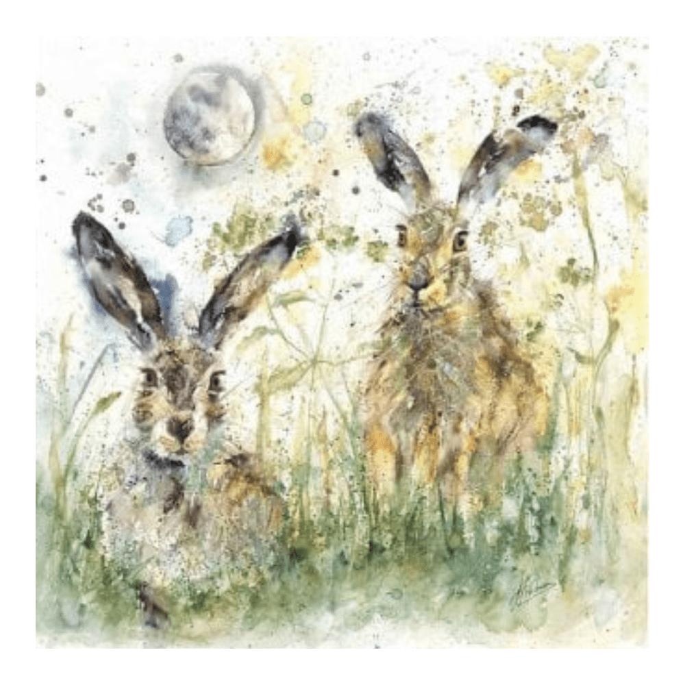 Luna hares by artko