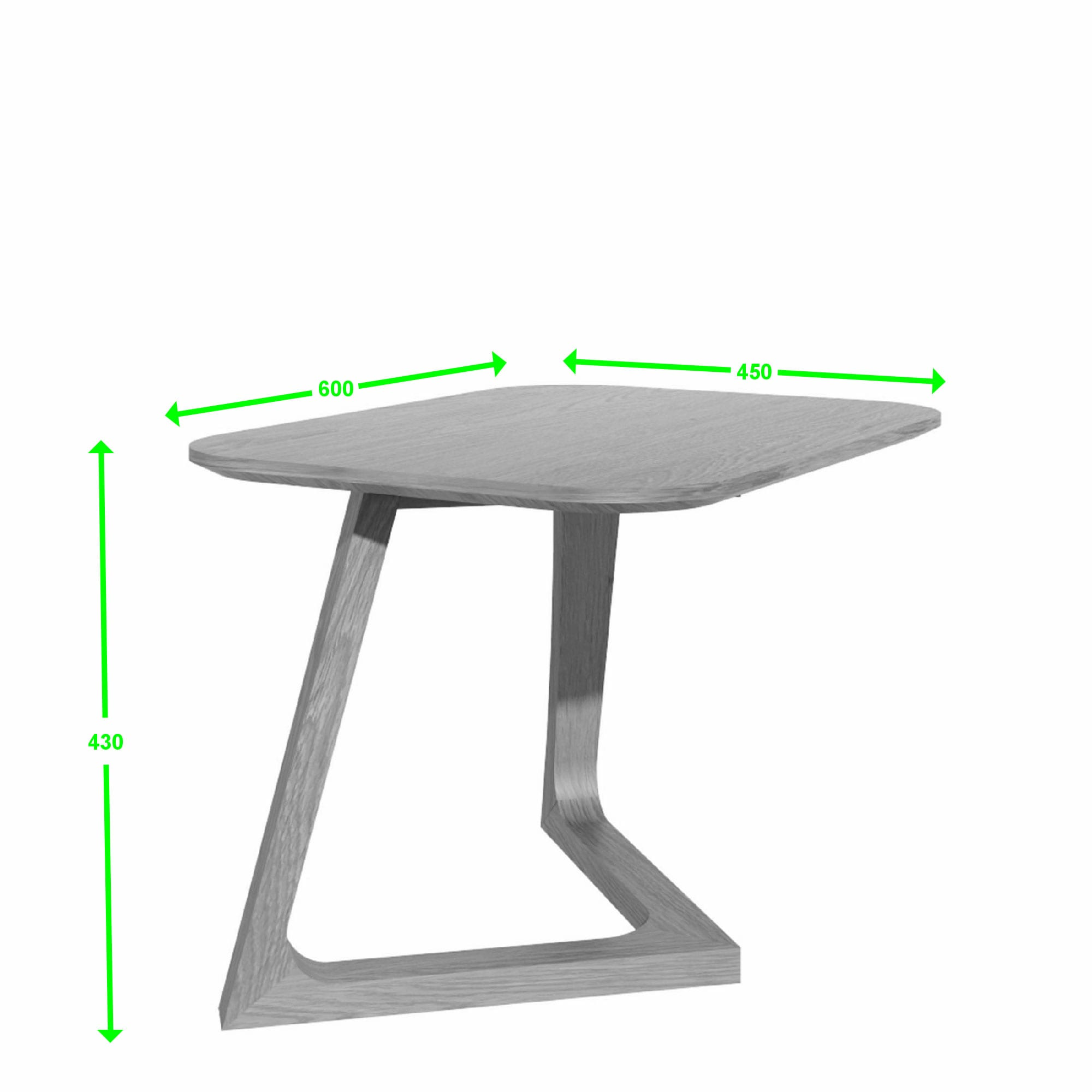 SCAVSLT scandic small lamp table measures
