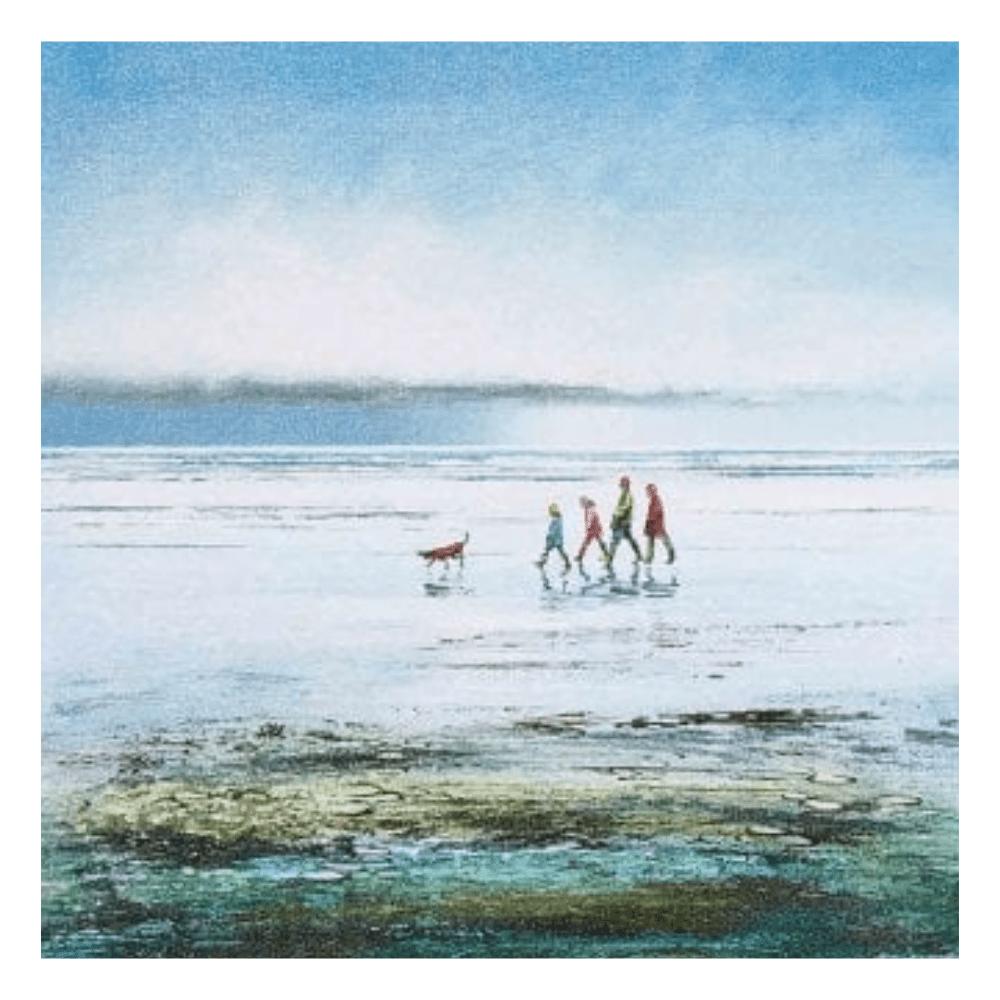 Walkies canvas by artko