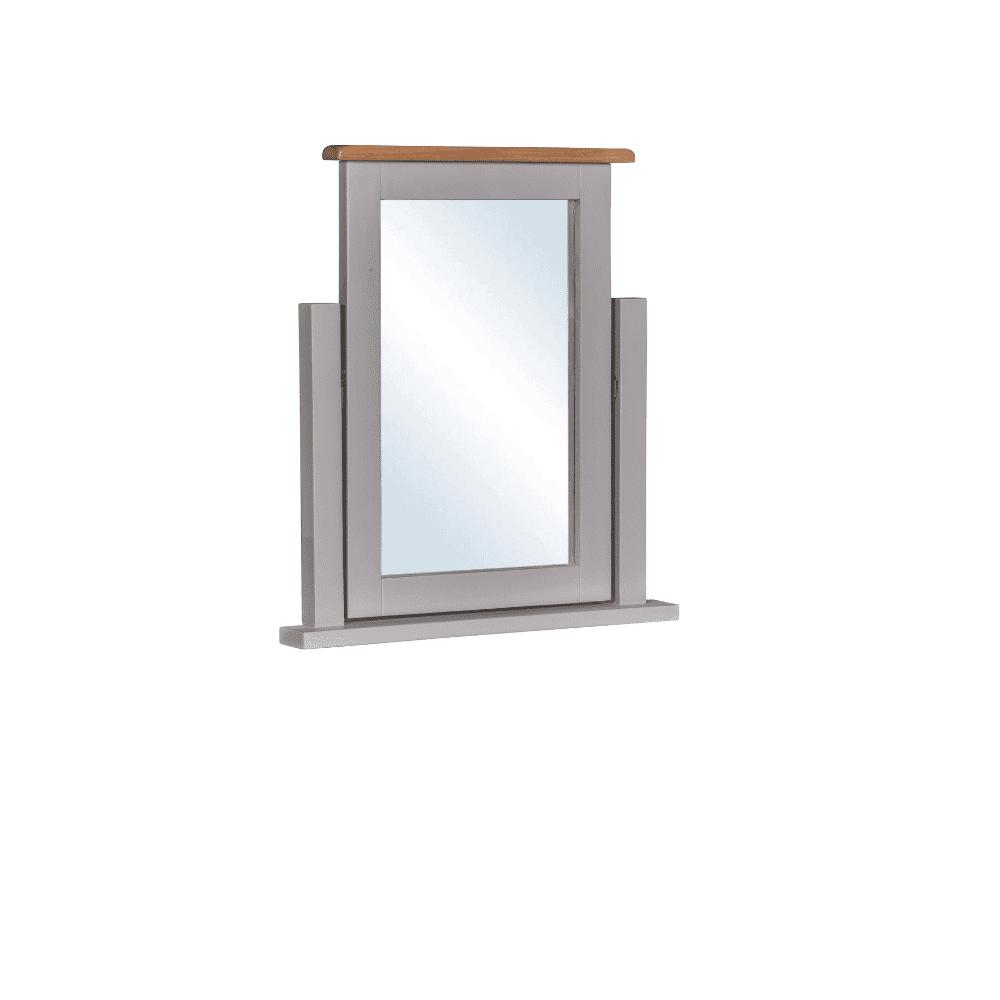 diamond dressing table mirror small image