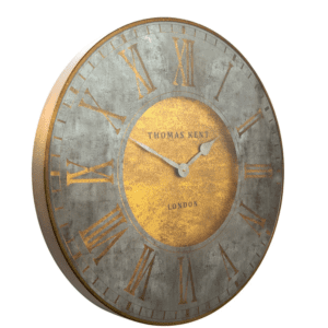 AMC30040 3inch Thomas Kent FLORENTINE STAR WALL CLOCK side