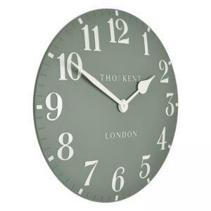 Thomas kent 20inch wall clock seagrass