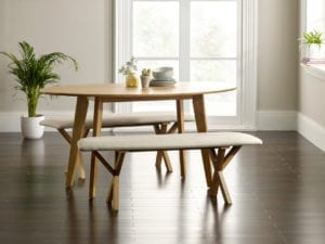 Venice table and bench set