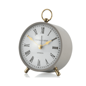AMC04004 Thomas Kent 4inch wren alarm clock - dove