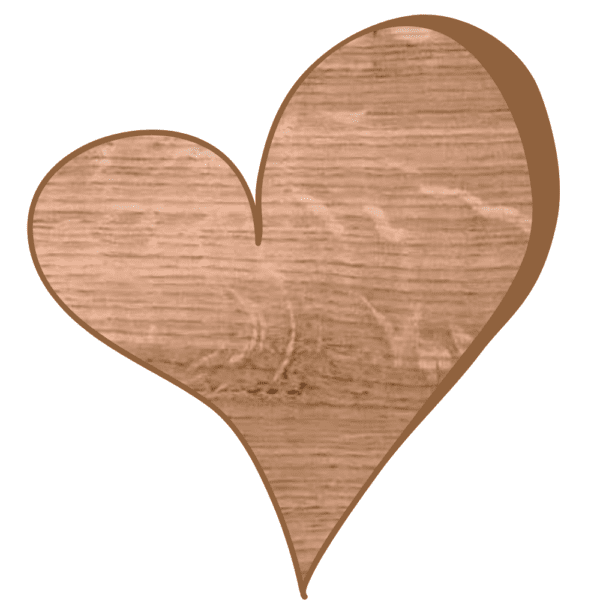oak-heart-showing-pith-marks-