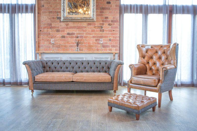 Granby sofa room set vintage sofa company