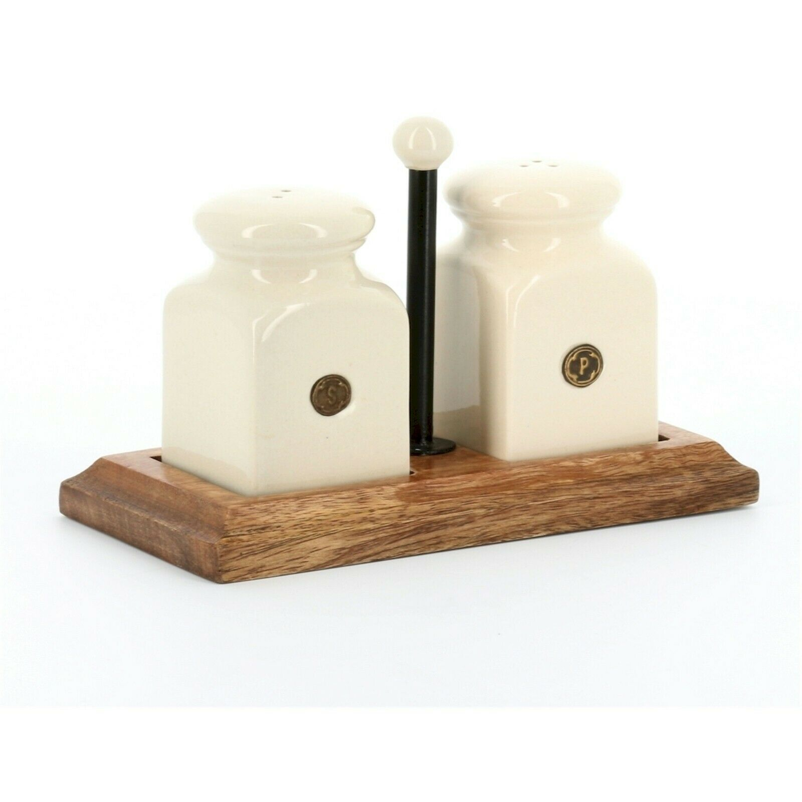 country kitchen 781010 salt and pepper on block